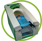 calzaclick impulso 100 dispensador automatico de calzas cubrezapatos desechables