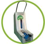 calzaclick impulso 200 dispensador automatico de calzas cubrezapatos desechables
