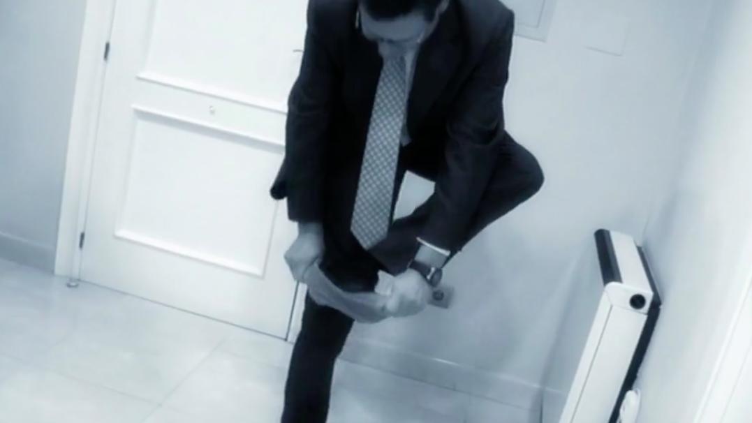 calzas desechables mal puestas