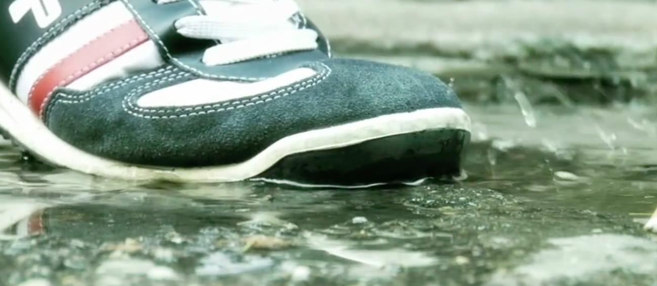 calzas desechables y la suciedad